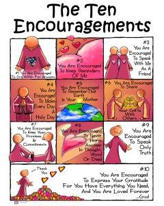 Ten Encouragements-new