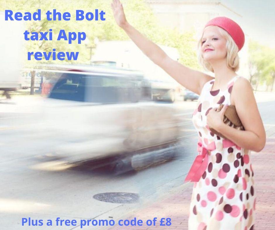 Bolt Taxi App Review By Greatdealsmadeeasy.com