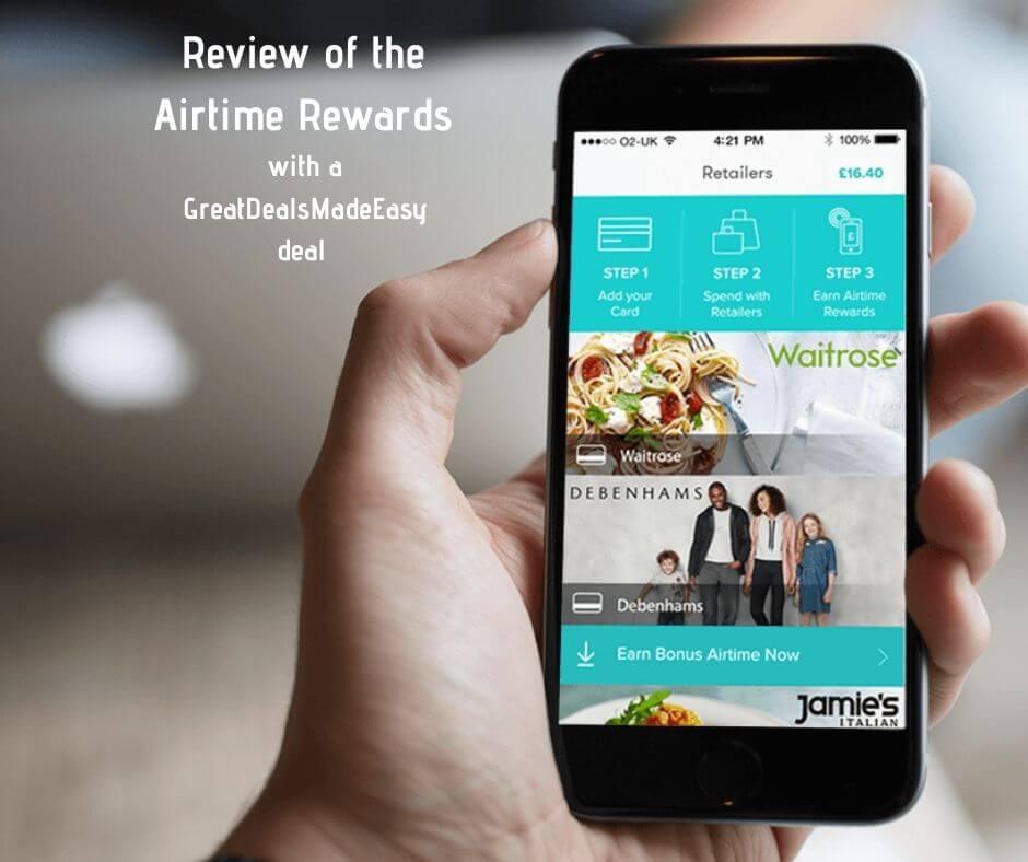 airtime rewards review