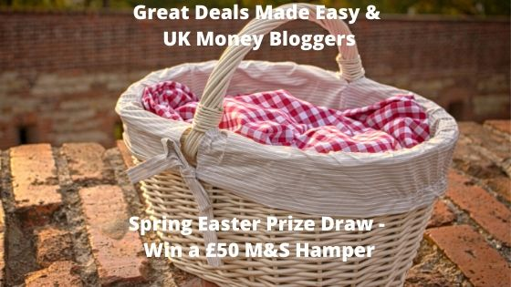 Spring Easter Prize Draw with Greatdealsmadeeasy and UK Money Bloggers