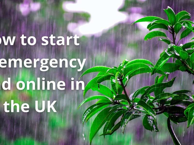 How to start an emergency fund online