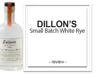 Dillon's Small Batch White Rye