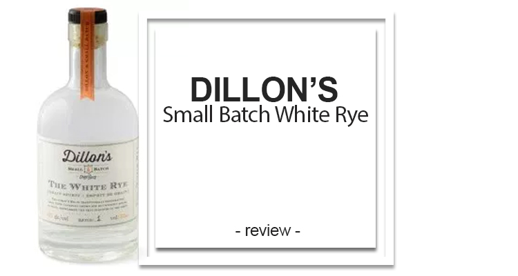 Dillon's Small Batch White Rye