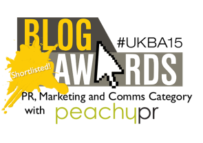Peachy PR shortlisted -small
