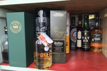 top three bottles of whisky to take to a dinner party