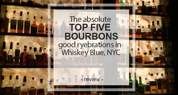 top five bourbons