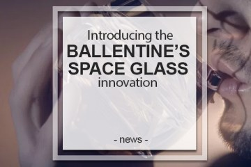 Ballentine's Space Glass