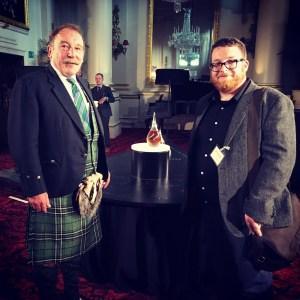 Greg meets the legend Charles Maclean