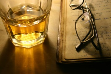 Reading with Whisky