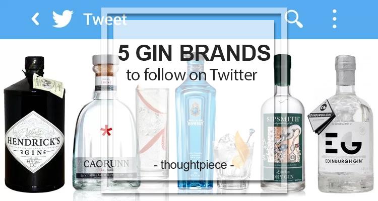 5 gin brands