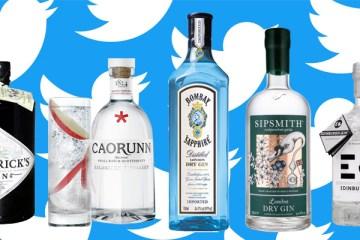 5 Gin Brands Twitter