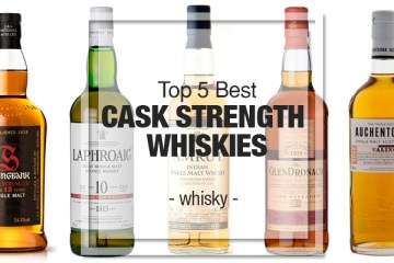 Top 5 Cask Strength Whiskies
