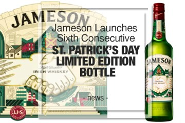 st patricks day limited edition bottle