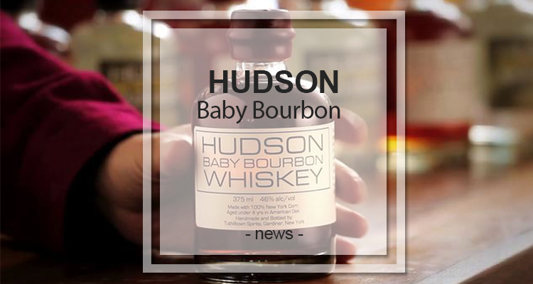 Bottle shot from GreatDrams Hudson Baby Bourbon review