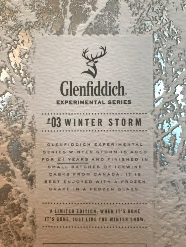 Glenfiddich 21 Year Old Winter Storm