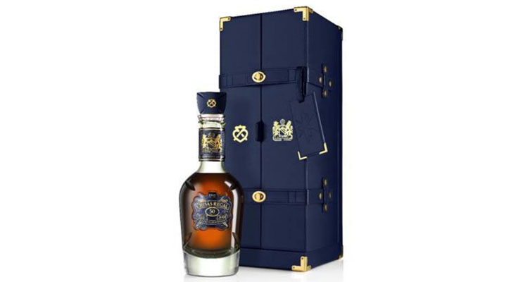 9ab5f895e CHIVAS RAISES A GLASS TO MANCHESTER UNITED S 1968 VICTORY IN EUROPE WITH  RARE 50 YEAR OLD SCOTCH
