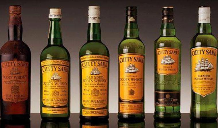 cutty sark bottles