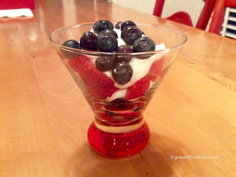 Berry Cheesecake Mousse
