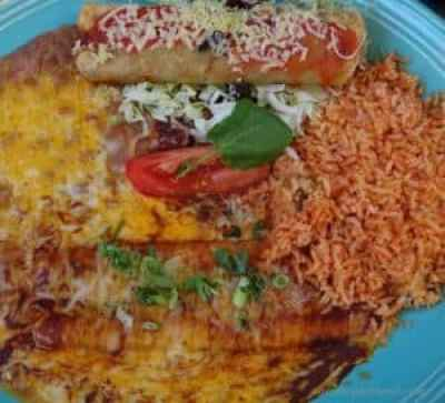 El Cholo Rolled Beef Taco Cheese Enchilada