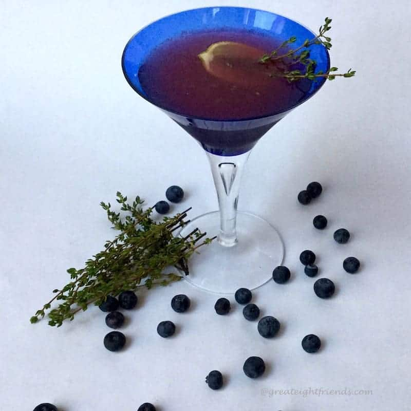 thyme for a martini