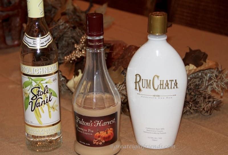 Pumpkin-Martini-Ingredients