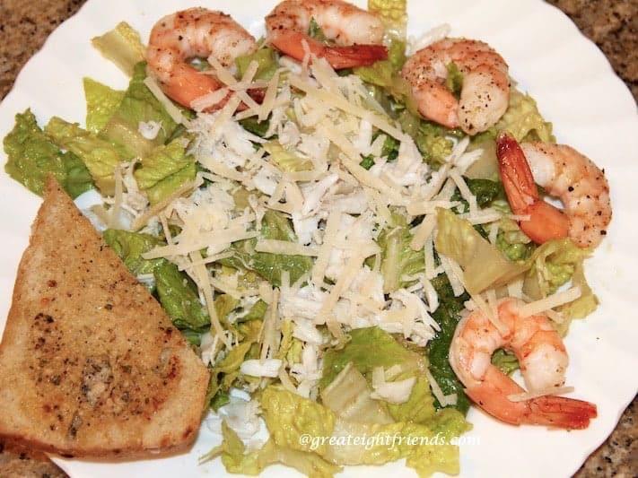 seafood caesar salad 2