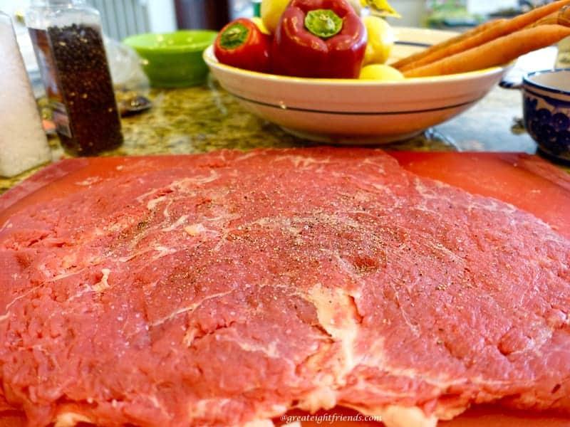 Beef Braciole Steak