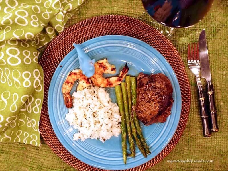 Margaritaville Dinner Plate