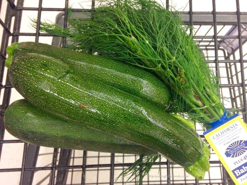 zucchini dill