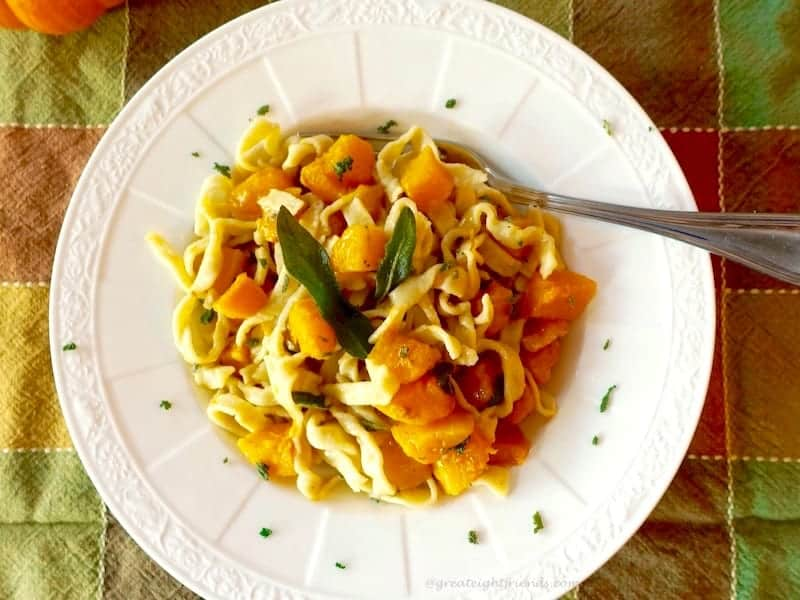 Browned Butter Squash Pasta 2