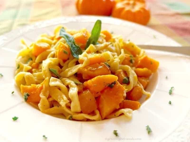 Browned Butter Squash Pasta 4