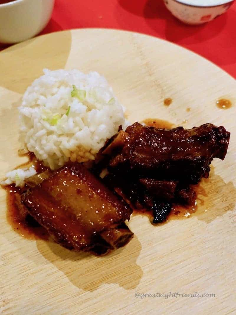 Chinese new year wuxi spareribs