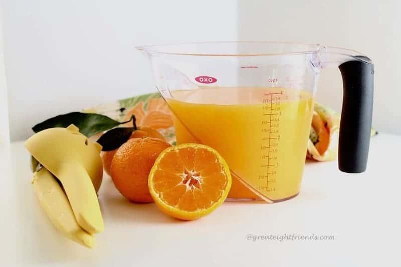 Tangerine sorbet ingredients