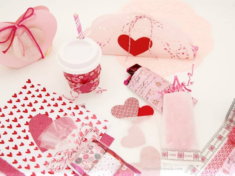 Valentine's Wrapped with Love Valentine's Day Projects