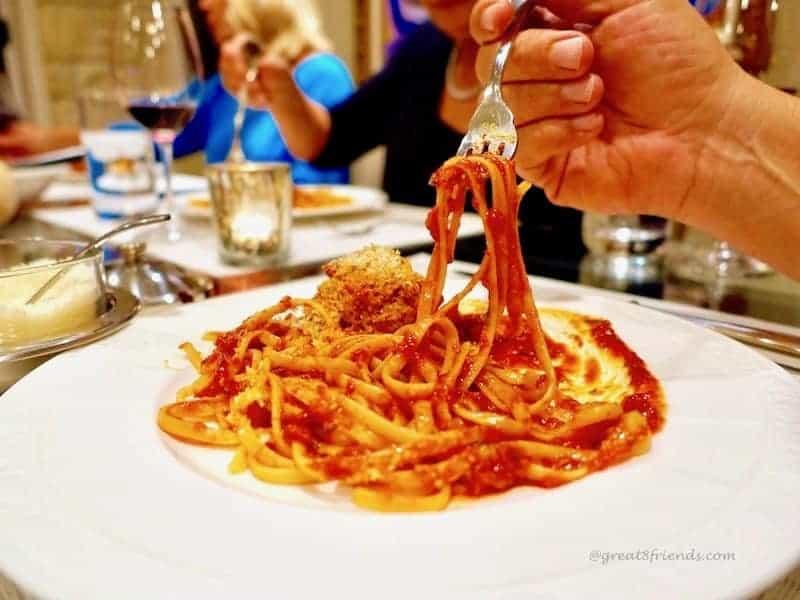 eat pasta lose weight spaghetti