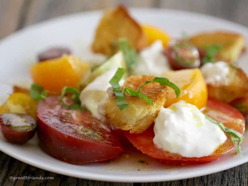 Terrific Tomato Burrata Salad