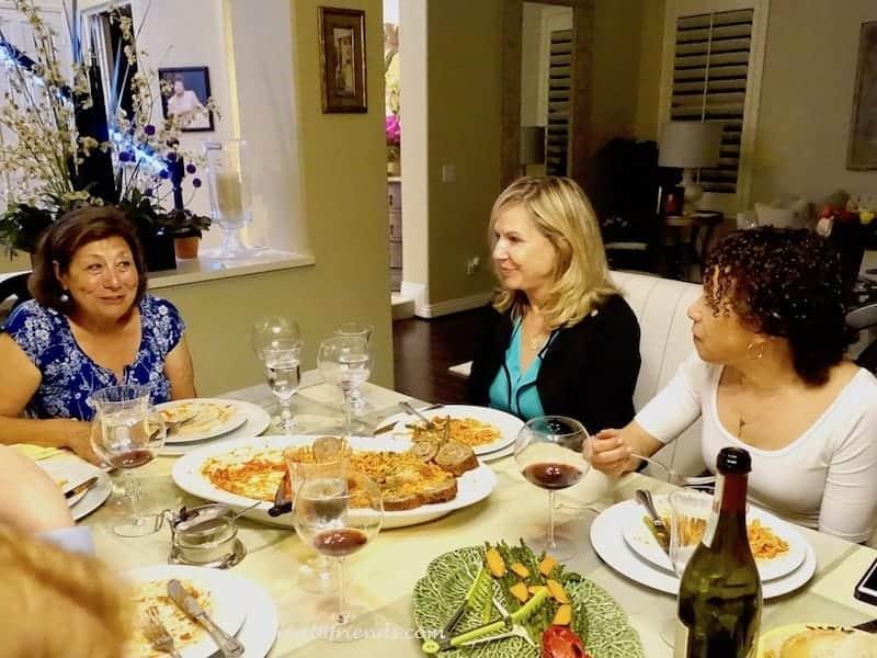 Feeling like a little italian family nonna anna