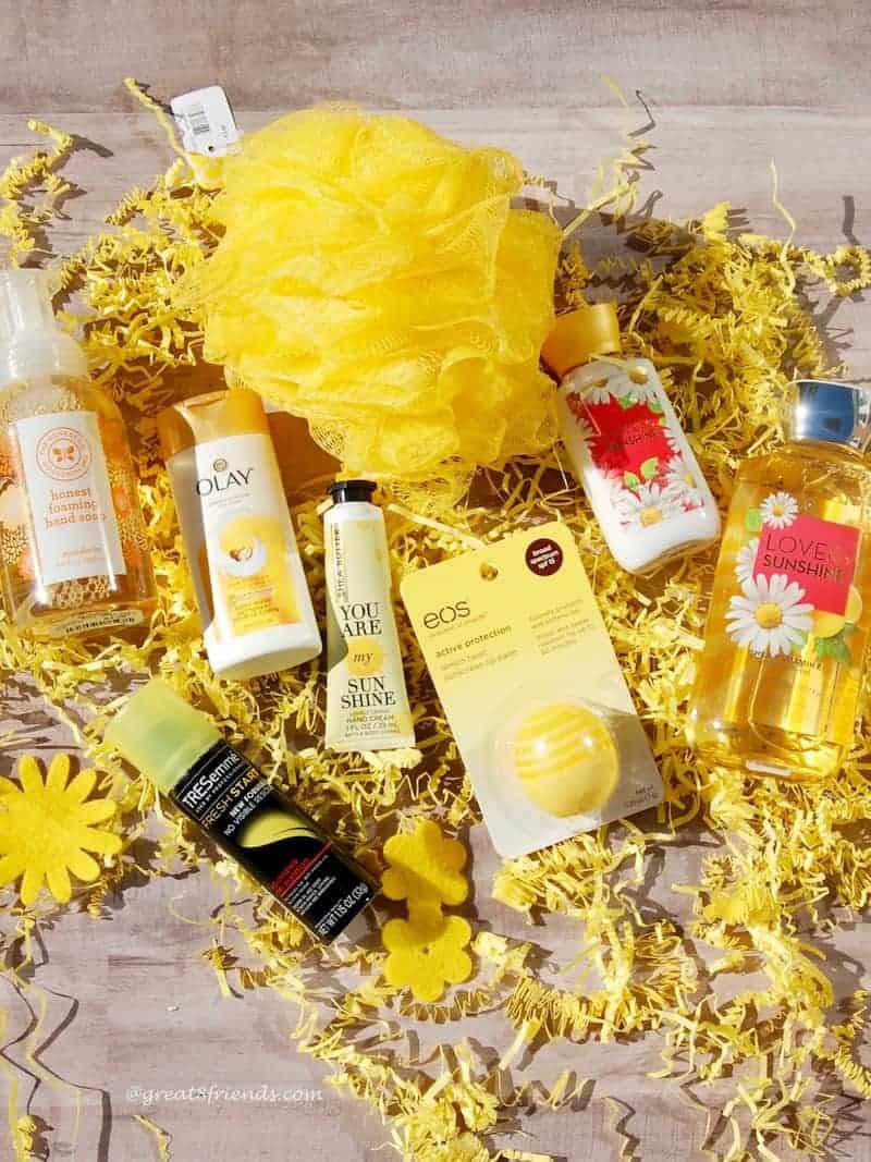 Box of Sunshine items