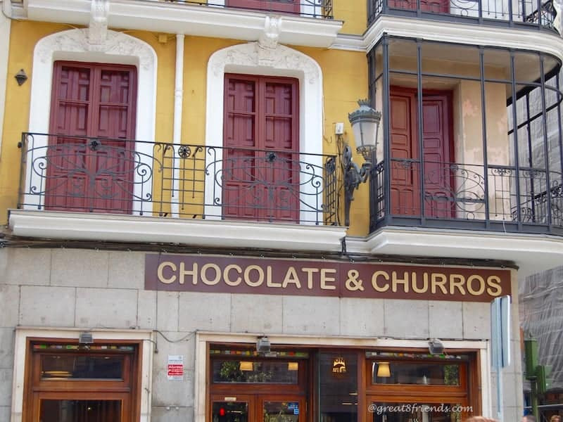 Churros and Chocolate Shop