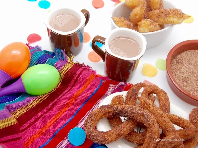 Churros and Hot Chocolate