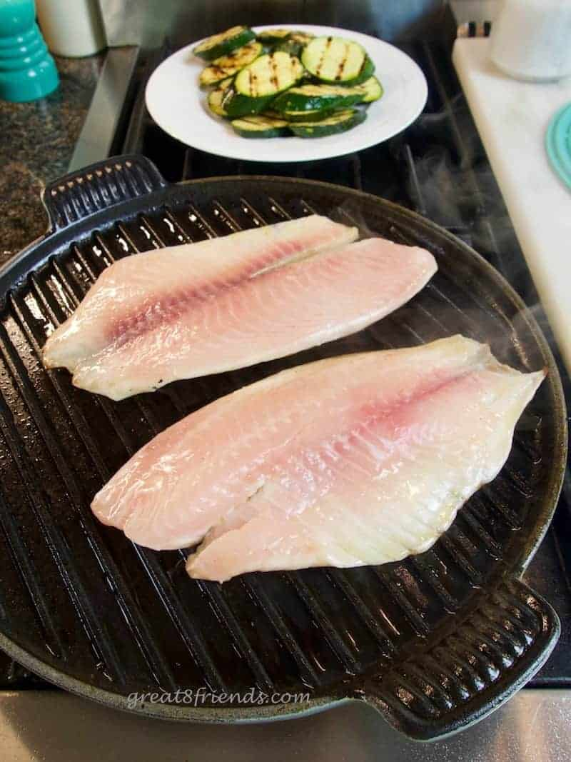 Is there really a best way to cook fresh fish? My husband thinks the way him mom did it is best. And here it is, simple and delicious!