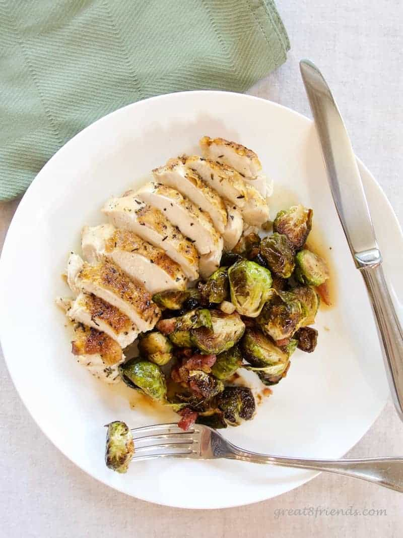 Ina Garten 39 S Balsamic Roasted Brussels Sprouts Great