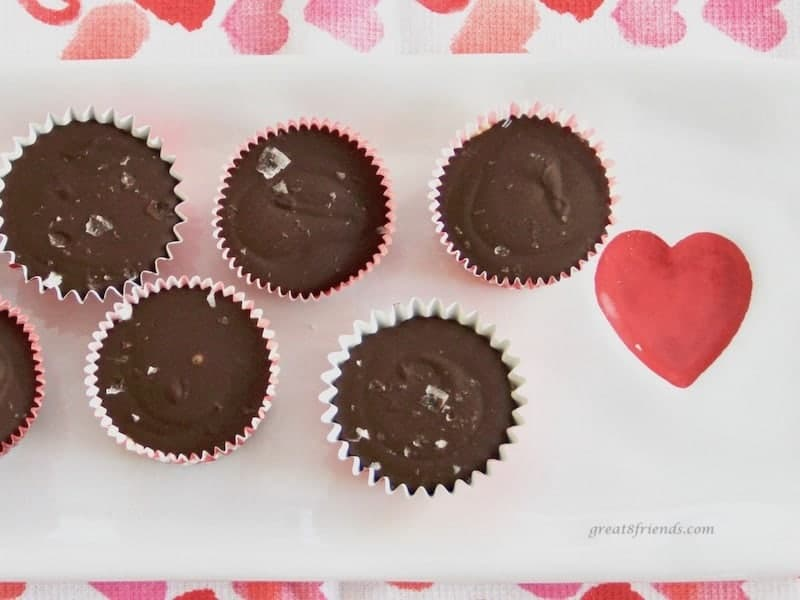 Galentine's Day Peanut Butter Cups