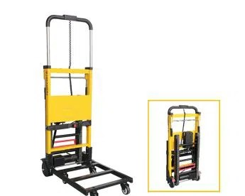ems stair chair aliexpress covers cheap electric powered climbing folding cart with unique track belts manufacturers - best ...