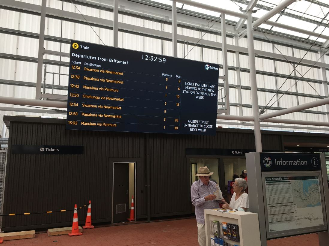 CRL - Cam - New Britomart Entrance PID - Greater Auckland