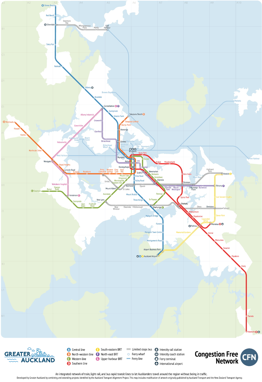 The Congestion Free Network 2