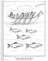 Free coloring pages for kids from the Tulalip Tribes