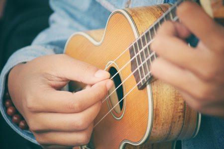woman playing ukulele - DepositPhotos.com