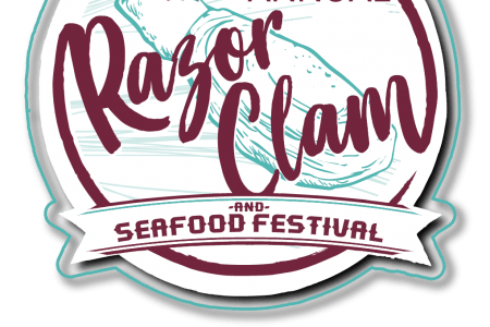 Ocean Shores Razor Clam festival 2019 logo