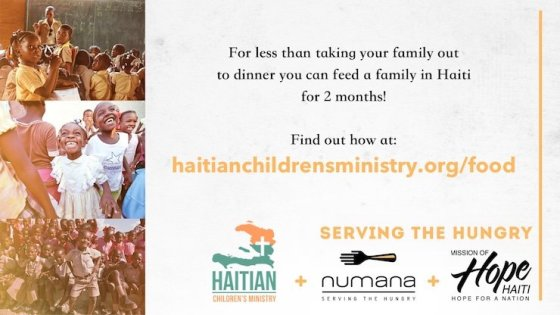 Help Us Provide 20,000 Meals for Children in Haiti